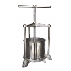 Pressoir de table cuve inox