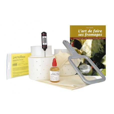 Kit à fromage pour débutant, vos fromages fait-maison