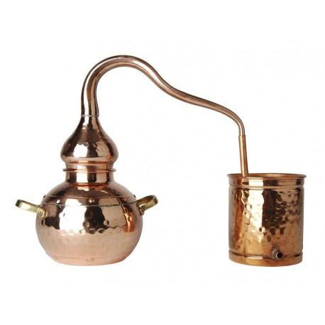 Alambic de distillation en cuivre