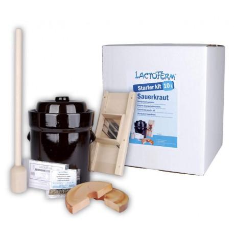 Kit débutant lacto-fermentation - Choucroute