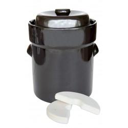 Pot à choucroute pour lacto fermentation 10L