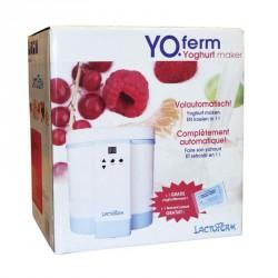 Yaourtière réfrigérante automatique yoferm grande capacité 1,5 l