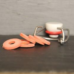 Rondelle caoutchouc pour bouchon mécanique - par 10