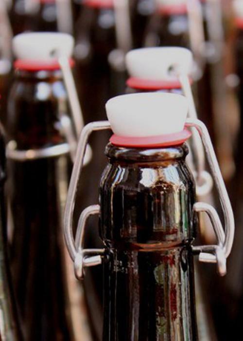 Bouchons pour bouteilles en verre
